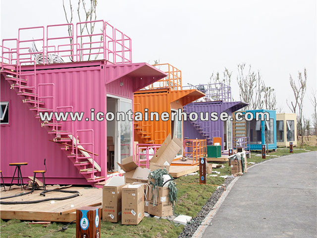 Prefab Houses for Accommodation